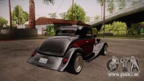 Hot Rod Extreme pour GTA San Andreas vue de droite