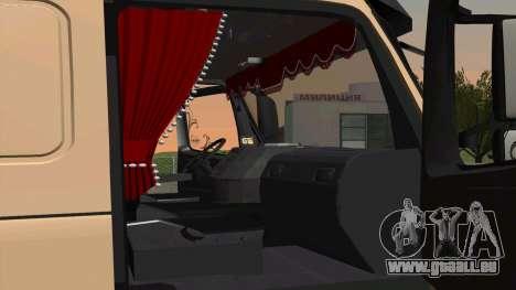 Volvo FM16 pour GTA San Andreas sur la vue arrière gauche