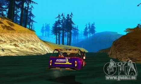 UAZ Hunter Trial pour GTA San Andreas vue de côté