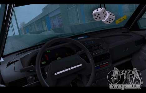 VAZ 21093 pour GTA San Andreas vue de dessus