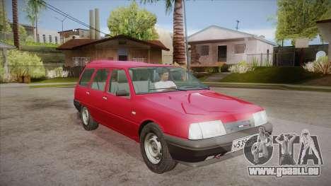 IZH 21261 Fabula BETA pour GTA San Andreas vue arrière