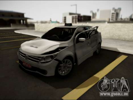 Volkswagen Voyage Taxi für GTA San Andreas Innenansicht