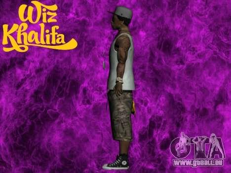 Wiz Khalifa für GTA San Andreas dritten Screenshot