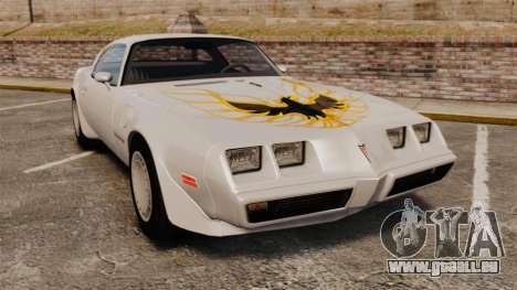 Pontiac Turbo TransAm 1980 pour GTA 4