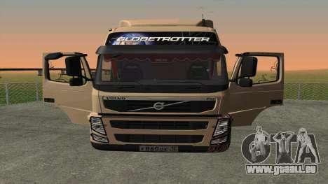 Volvo FM16 pour GTA San Andreas laissé vue