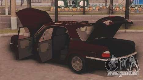 GAZ 31105 für GTA San Andreas rechten Ansicht