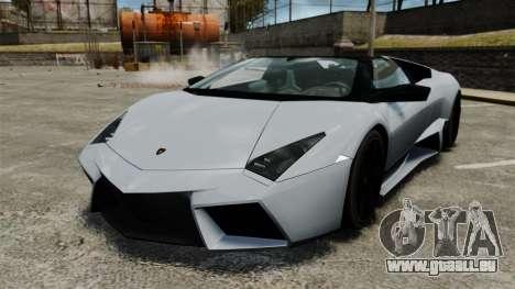 Lamborghini Reventon Roadster 2009 für GTA 4