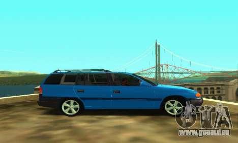 Opel Astra F Caravan pour GTA San Andreas vue de droite