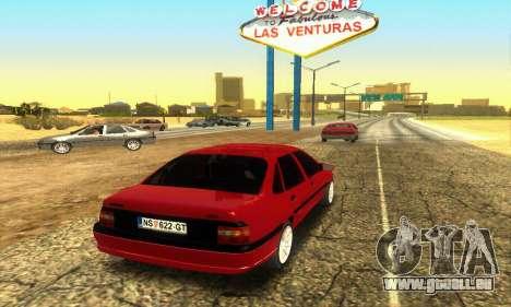 Opel Vectra A pour GTA San Andreas vue de droite