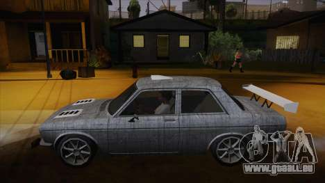Datsun 510 RB26DETT Black Revel pour GTA San Andreas salon