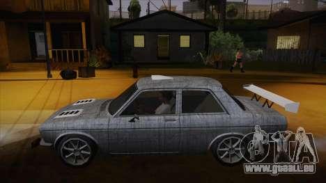 Datsun 510 RB26DETT Black Revel für GTA San Andreas Innen