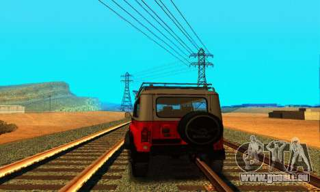 UAZ 31514 6 x 6 für GTA San Andreas rechten Ansicht