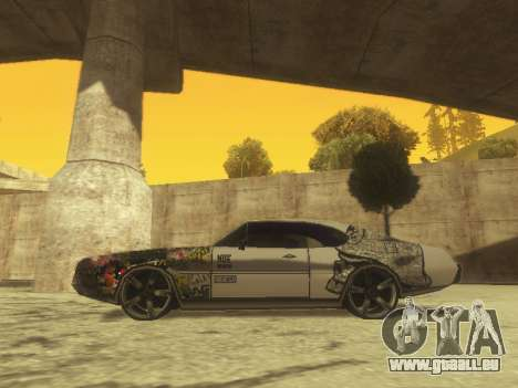 Clover Modified pour GTA San Andreas laissé vue