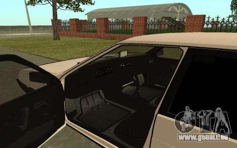 VAZ 21093 pour GTA San Andreas vue arrière
