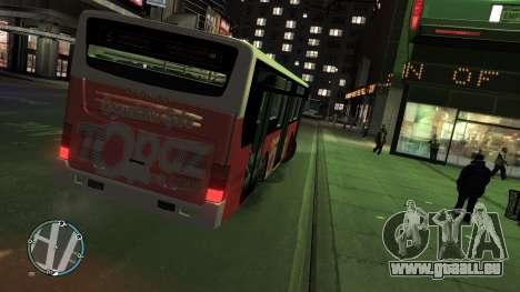 Daewoo BC211MA Baku für GTA 4 hinten links Ansicht