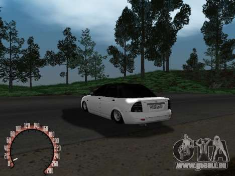 VAZ-2170 für GTA San Andreas rechten Ansicht