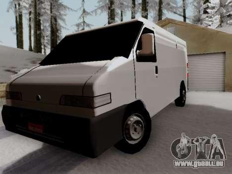 Fiat Ducato Cargo für GTA San Andreas