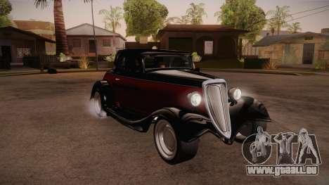 Hot Rod Extreme für GTA San Andreas Rückansicht