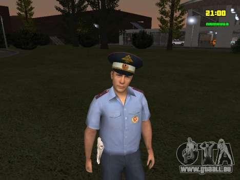 DPS Offizier für GTA San Andreas