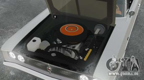 Dodge Coronet 440 1967 pour GTA 4 est une vue de l'intérieur