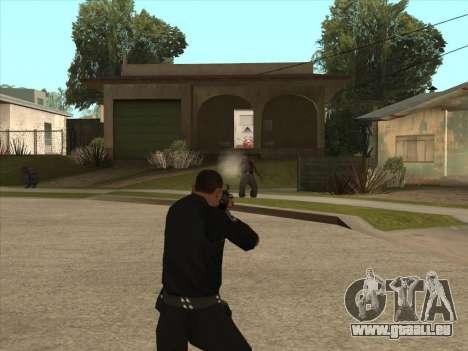 AKMS avec baïonnette-couteau pour GTA San Andreas troisième écran