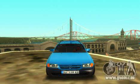 Opel Astra F Caravan für GTA San Andreas linke Ansicht