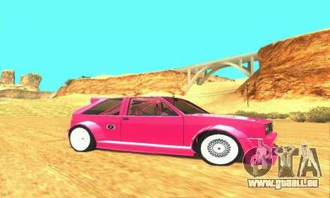 Hillclimb Club pour GTA San Andreas vue arrière