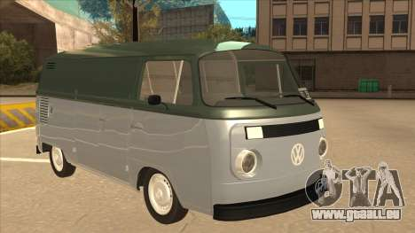 VW T2 Van für GTA San Andreas linke Ansicht