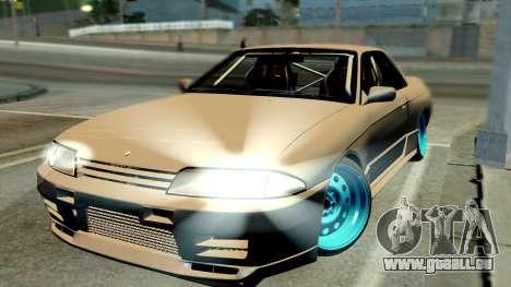 Nissan Skyline R32 Hellaflush pour GTA San Andreas