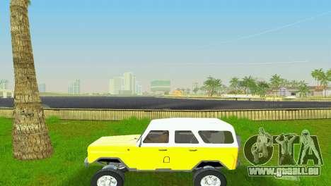 UAZ 3151 für GTA Vice City Rückansicht