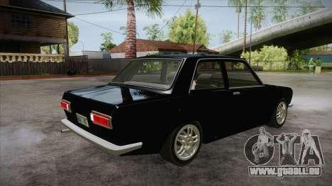 Datsun 510 RB26DETT Black Revel pour GTA San Andreas vue de droite