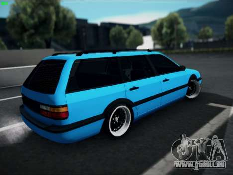 Volkswagen Passat Caravan 1993 Avant Style pour GTA San Andreas laissé vue