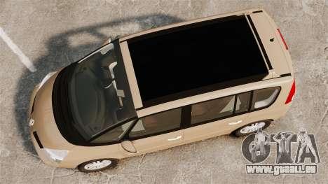 Renault Espace IV Initiale für GTA 4 rechte Ansicht