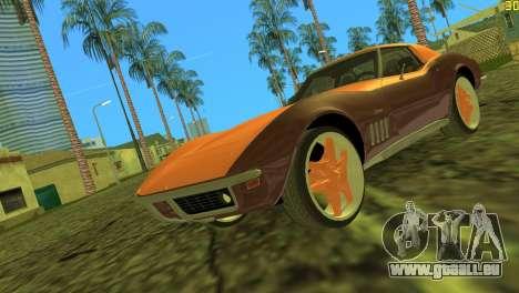 Chevrolet Corvette C3 Tuning pour GTA Vice City