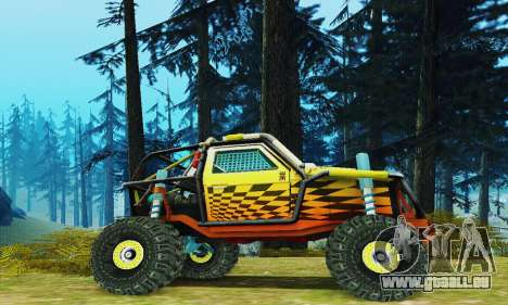 Joker prototype UAZ pour GTA San Andreas laissé vue