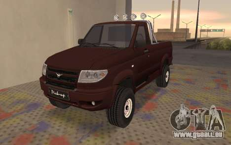 UAZ Patriot für GTA San Andreas