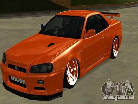 Nissan Skyline R-34 für GTA San Andreas