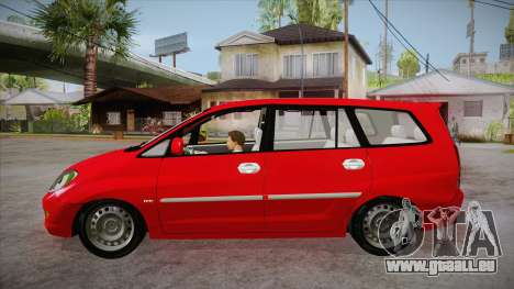 Toyota Kijang Innova 2.0 G v3.0 Steel Rims pour GTA San Andreas laissé vue