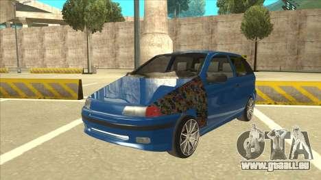 Fiat Punto MK1 Tuning pour GTA San Andreas