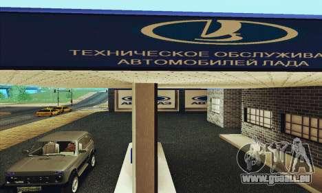 Neue Garage in Doherty für GTA San Andreas dritten Screenshot