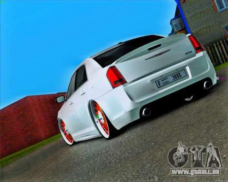 Chrysler 300 c SRT-8 MANSORY_CLUB pour GTA San Andreas sur la vue arrière gauche