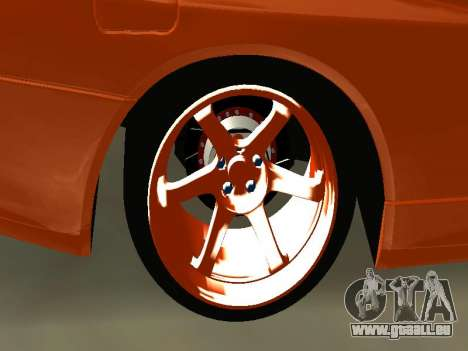 Nissan Skyline R-34 pour GTA San Andreas vue de droite