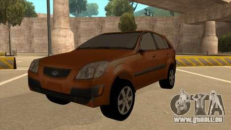 KIA RIO II 5 DOOR für GTA San Andreas