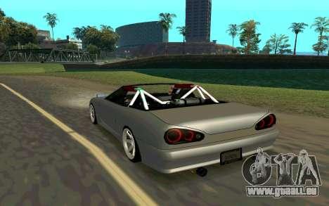 Elegy Cabrio pour GTA San Andreas laissé vue