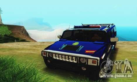 Hummer H2 G.E.O.S. für GTA San Andreas