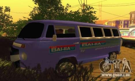 VW Kombi ESCOLAR pour GTA San Andreas laissé vue