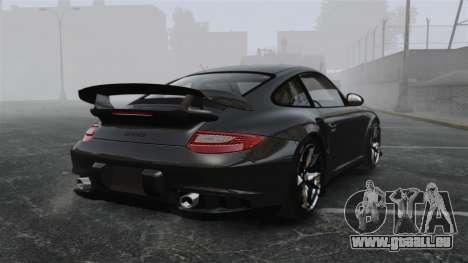 Porsche 997 GT2 2012 Simple version pour GTA 4 Vue arrière de la gauche