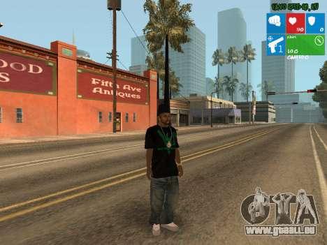 Trafiquant de drogue nouvelle Afro pour GTA San Andreas