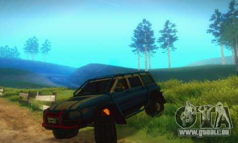 UAZ Patriot pour GTA San Andreas
