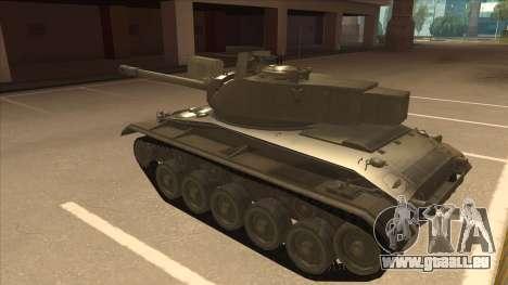 M41A3 Walker Bulldog für GTA San Andreas Rückansicht
